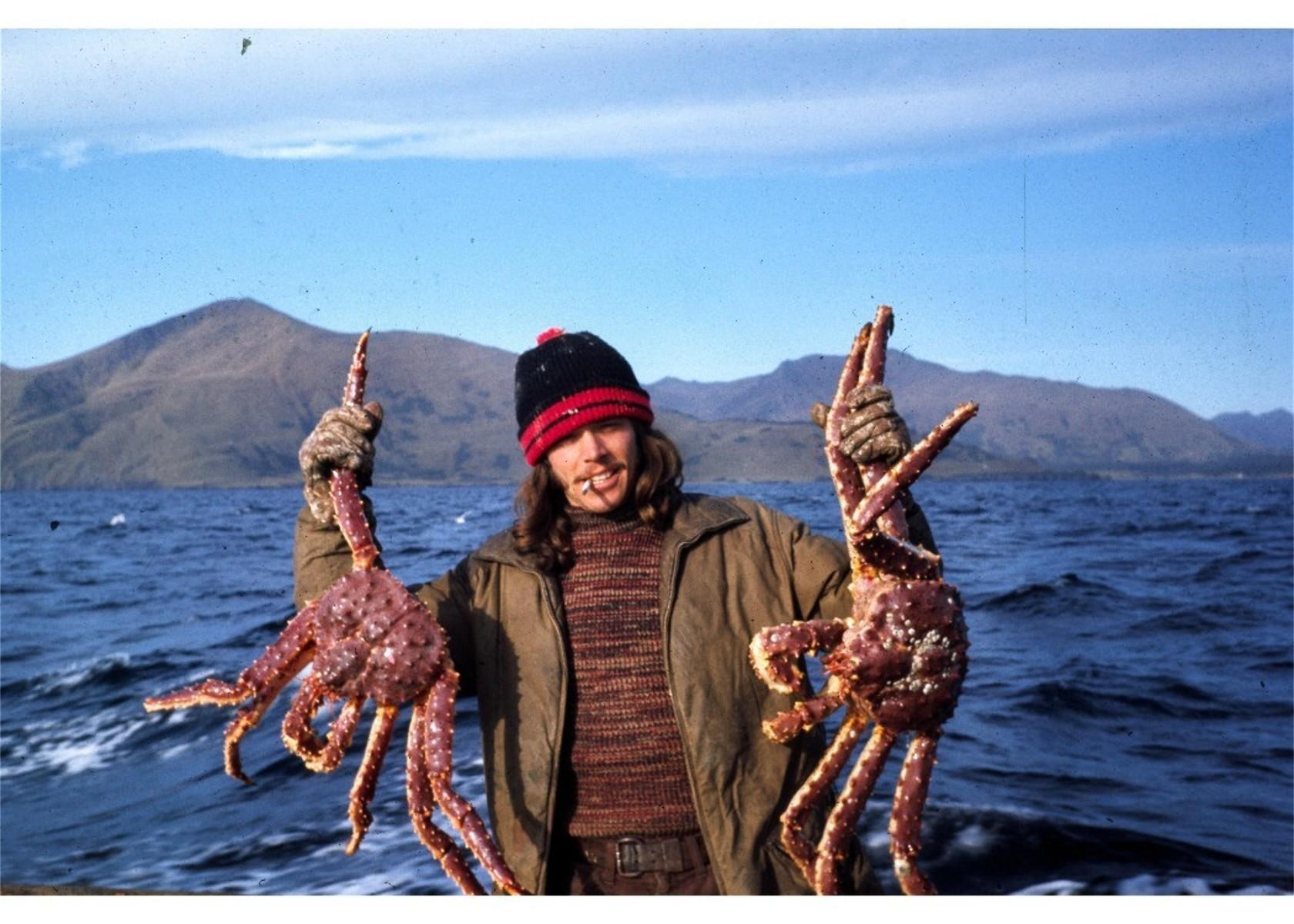 Early in my fishing career catching Kodiak King Crab