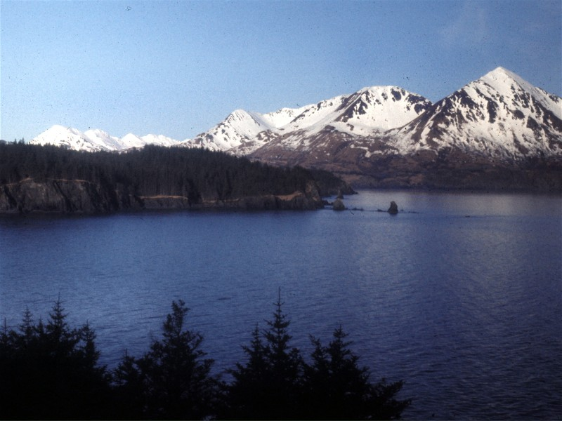 Monashka Bay on Kodiak Island