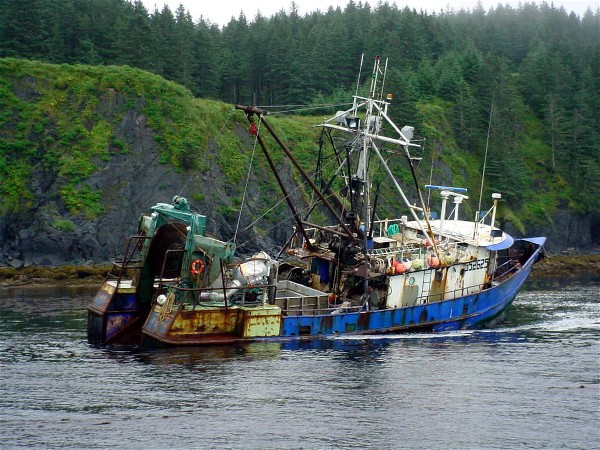 F/V Provision August 4, 2004 U S Coast Guard photo by Petty Officer Joe Lovett, MSD Kodiak