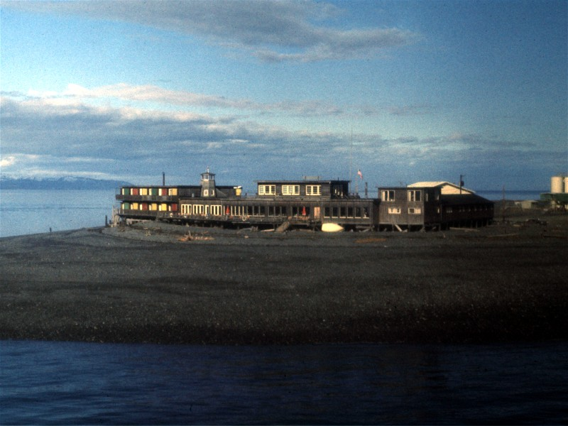 Lands End Resort on the Homer Spit 1975